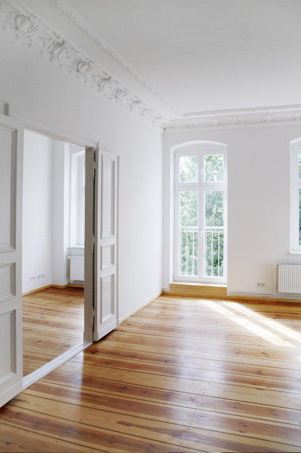 Empty luxury home