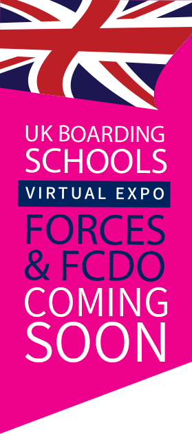 UK Boarding School Virtual Expo for Forces & FCDO