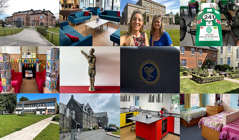 UK Boarding Schools in Cornwall and Devon